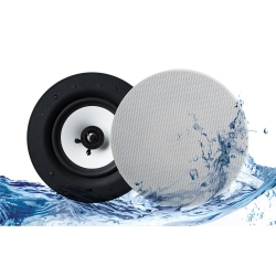 """Lithe Audio Bluetooth v4.1 IP44 Rated Wireless 6.5"""" Ceiling Speaker"""
