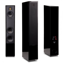 REFURBISHED MOTION 40 FLOORSTANDERS GLOSS BLACK