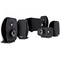 Refurbished Paradigm Cinema 100 Ct Ht System Gloss Black 230V (Set)