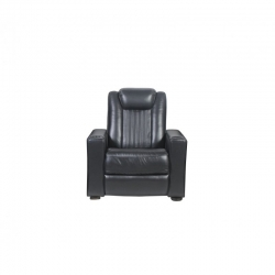 Rowone Reynolds W Power Headrest/ Led Cupholder Fabric: Cortina Colour: Black