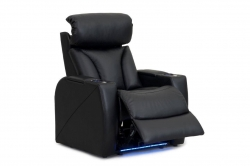 REFURBISHED CARMEL TWO ARM RECLINER WITH HEADREST